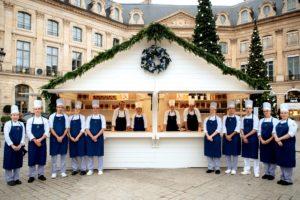 Découvrez le Chalet de Noël à la Place Vendôme à Paris