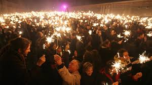 Feux d'hiver de Calais : Cierge magique