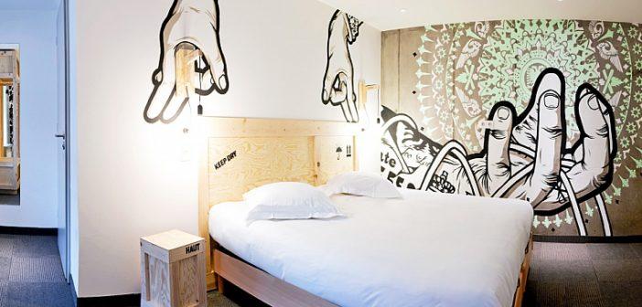 La chambre 18 de l'hôtel Le Graffalgar