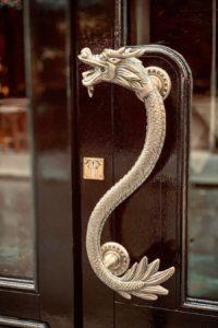Poignée du bar à cocktail Dragon